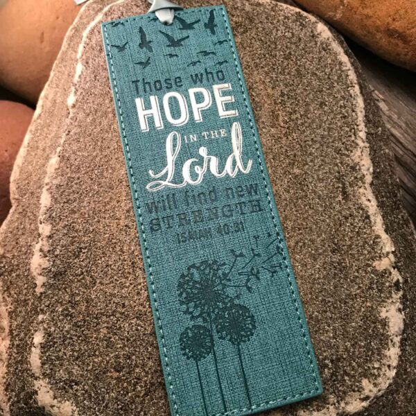 Soar Bookmark: Hope in the Lord - Isaiah 40:31