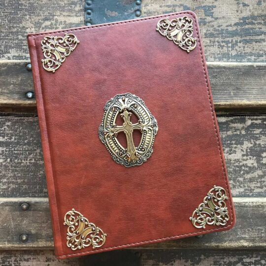 Embellished Cross Journaling Bible