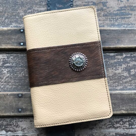 Deerskin with Cowhide Bible Cover