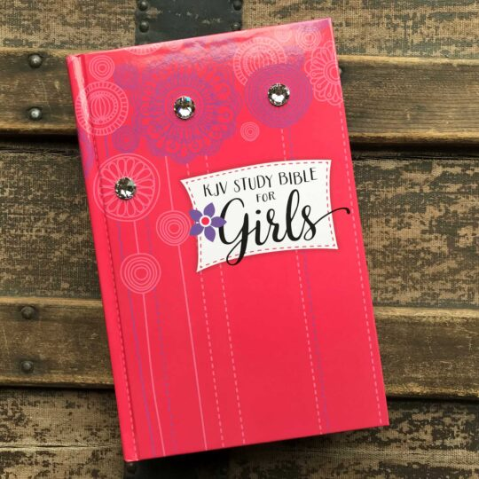 Embellished KJV Study Bible for Girls
