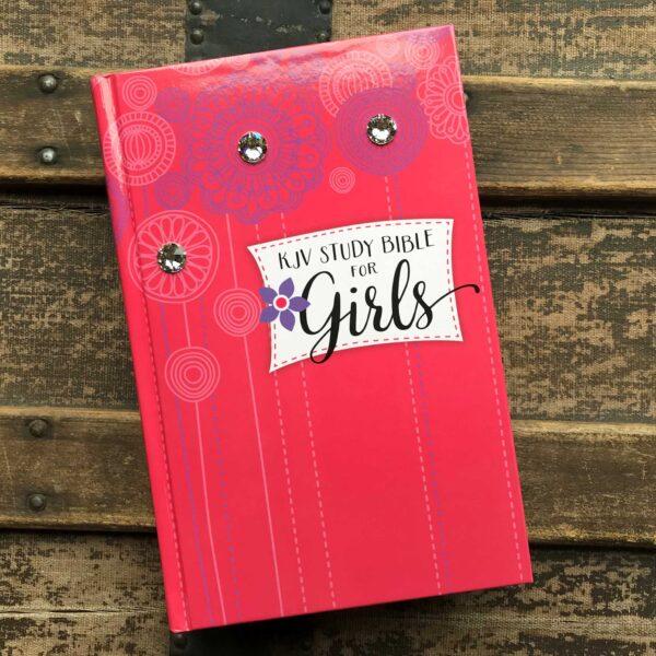 Embellished KJV Study Bible for Girls