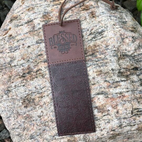 Brown Blessed Man Bookmark
